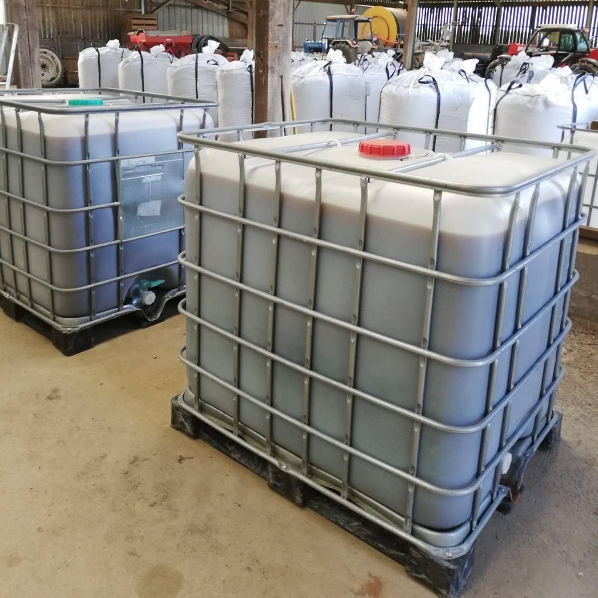 Cuve 1000 litres jus de lombricompost